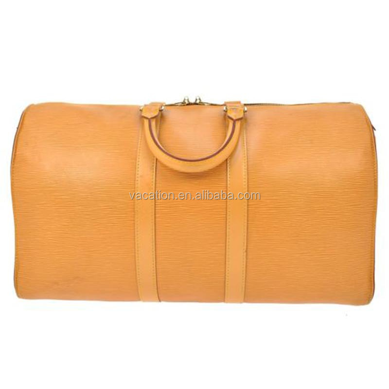Leather travel bags from india with low price