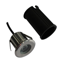 Waterproof IP67 Outdoor 12V Led Recessed Light 1W Step Led