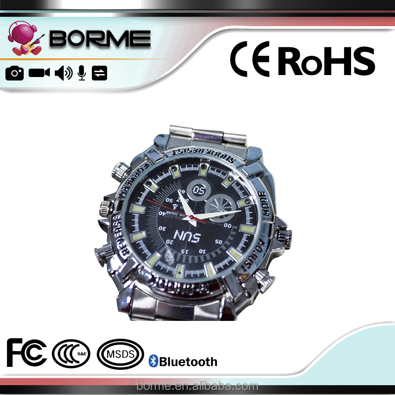 For adults smart wrist watch with spy hidden high definition camera