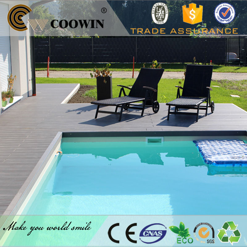 high strength pool side waterproof outdoor wooden