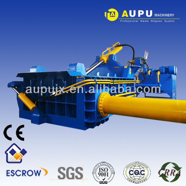 Aupu Y81-160 CE compactor baler machine for scrap metal CE certification sell to UK