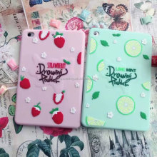 Fruit silicone case back cover for iPad mini iPad 2 3 4 air air 2