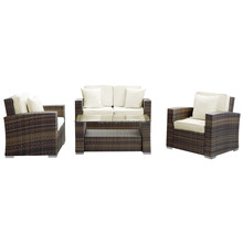 Gold supplier SIGMA luxury living outdoor rattan furniture