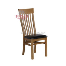 903 Solid oak UK home wooden furniture slat back chair