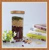 glass storage container dry flower storage container dry soy bean seed container