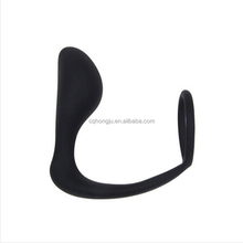 Adult sex toys silicone anal plug man cock ring prostata massager anal