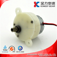 Plastic Gear box for Toys and Fan , Brush DC Plastic Gear Motor JS-30 for Arts,32mm Spur Plastic Gear 3v Micro Motor