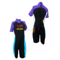 wetsuits with lycra on shoulder and arm surf suits for kids