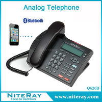 Hotel room telephone parts and function of telephone with bluetooth function
