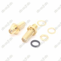 SMA Connector adapter SMA female Jack to SMA Jack straight long version connector