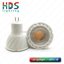 6W COB spotlight CE RoHS LVD CRI>80 GU10 MR16 High quality