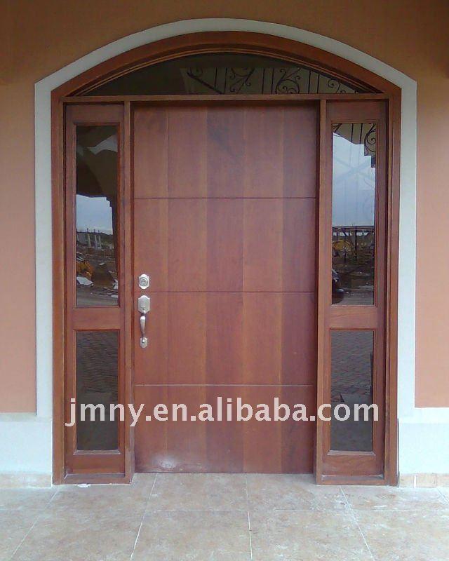 Bois massif ext rieur porte en acajou portes id de produit for Porte bois massif exterieur