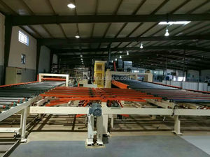 automatic paper surface gypsum board production line/gypsum board machine for producing paper faced