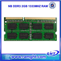 2015 cheap price 1333D3N9/2G ram 1 piece ddr3 2gb ddr 1333 laptop memory