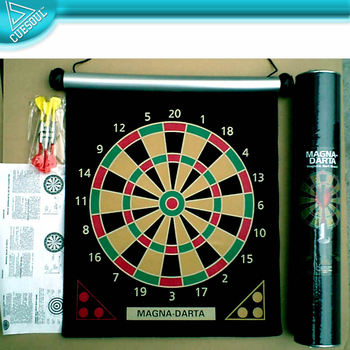 Magnetic Roll-up Dart Board - Buy Inflatable Dart Board ...