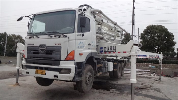 Hot Sale Good Price, Original from Japan Hino Used Pump Concrete Truck for Sale