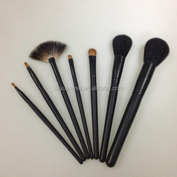 12 pcs professional Makeup Brush Set with brush roll , various colors are available