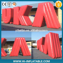 New inflatable sky balloon,inflatable advertising ballon alphabet letter balloons