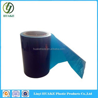 Pressure sensitive PE clear film application tape