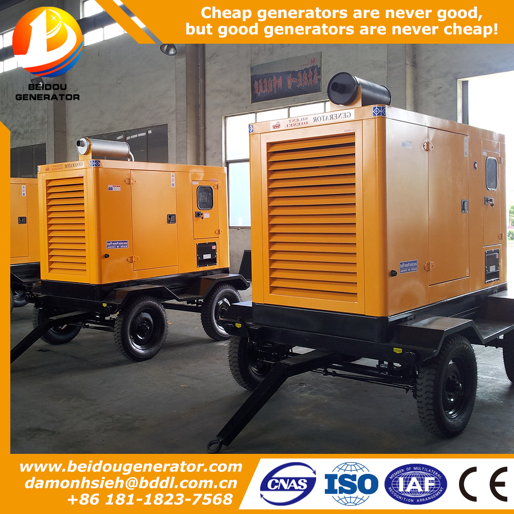 Hot sale silent slectric soundproof 1000KVA electric generator muffler