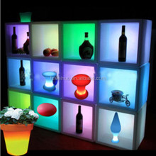 Plastic led lighting bar cabinet /event decoration/waterproof