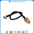 RF Connector RP-SMA female bulkhead straight to CRC9 connector adapter cable