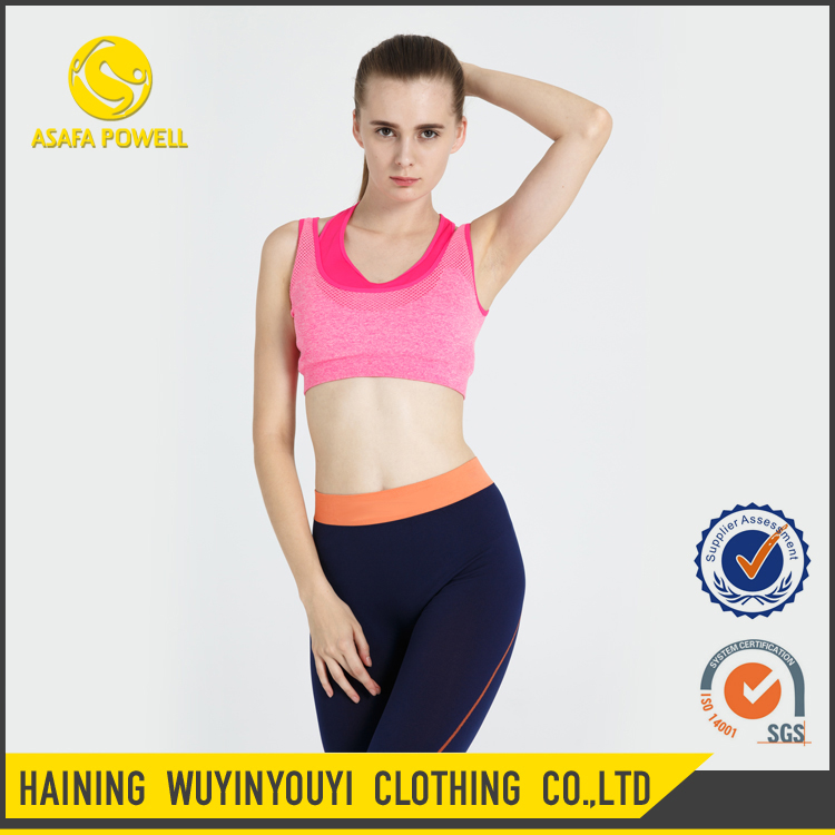 Crazy Selling Factory Direct Sexy Athletic Thin Seamless Yoga Bra