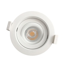 warmdim recessed 9w led downlight cob dimmable dim to warm 2000k-2800k 83mm for Nordic with CE Emko