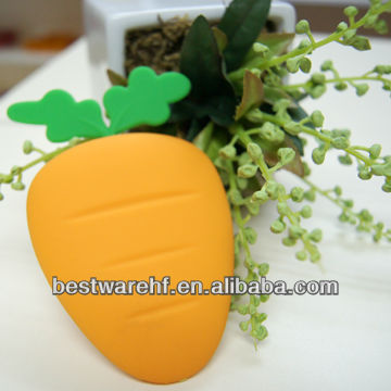 New Carrots silicone key cover case& bag