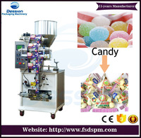 small candy granule sachet Triangle bag packing machine