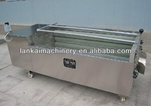 automatic fruit washing machine/vegetable washing machine/carrot washing and peeling machine