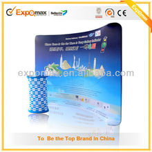 Portable trade show tension fabric backwall display