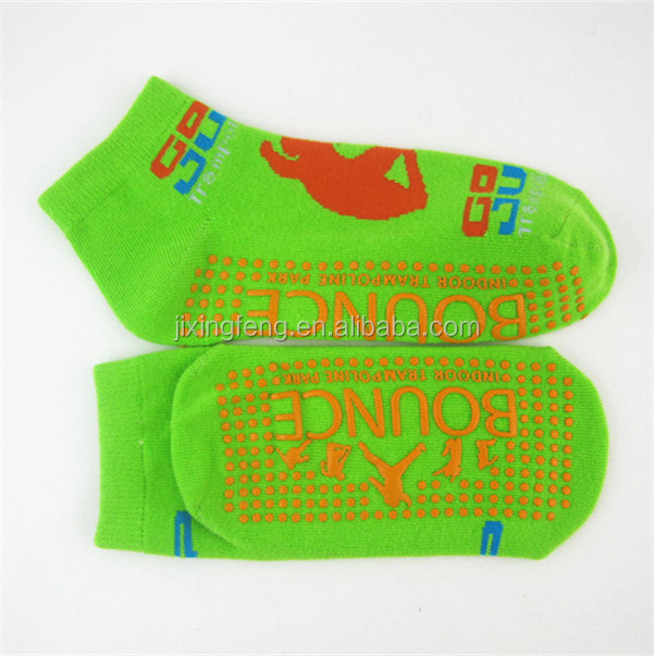 soft cozy nonslip leather sole floor socks