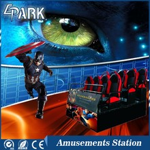 Amusement 5D 6D 7D 8D 9D 11D 12D Mobile Cinema Machine Theme Park Truck Equipment Mobile 5D Cinema