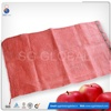 Red net PP leno mesh bag for fruit