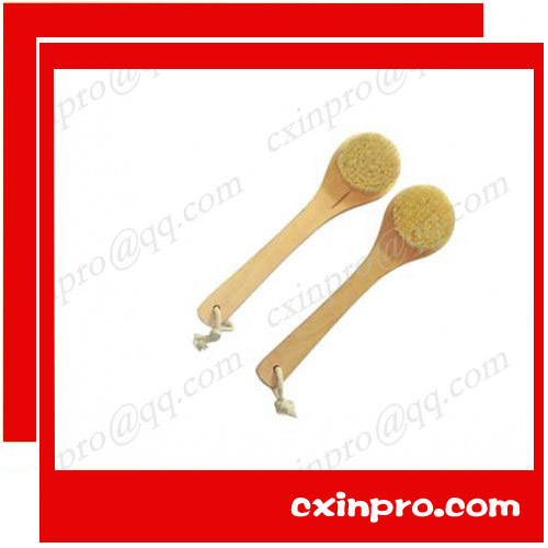 26*8cmHigh Quality Natural Wooden Handle Bristle Body Brush