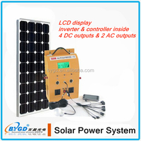solar track system,mimi solar power home system,portable 300w with led light and usb charger