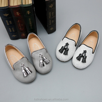 wholesale China New Cute Casual shoes with tassel slip on dolly shoes flat baby toddle shoes