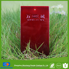 Candy Red Protective Clear Powder Coating For Electrical Insulating Varnish