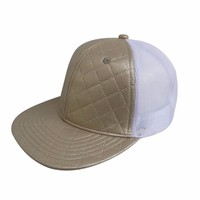 factory price flat visor fashion mesh snapback cap