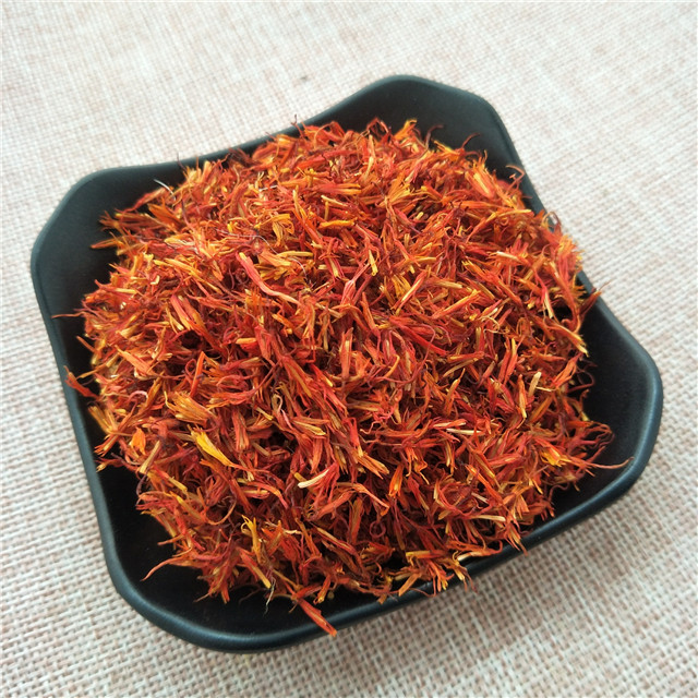 Hong hua pure natural and organic Dried xinjiang raw yellow Safflower flower tea