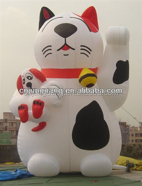 2017 giant lucky inflatable cat