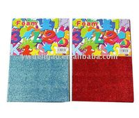 Assorted Patterns Colors Glitter EVA Foam Sponge Sheet Stickers for Office Stationery DIY handcrafts