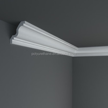 High quality polyurethane moulding HDC084 mould baseboard trim indirect lighting led cable coving cornice