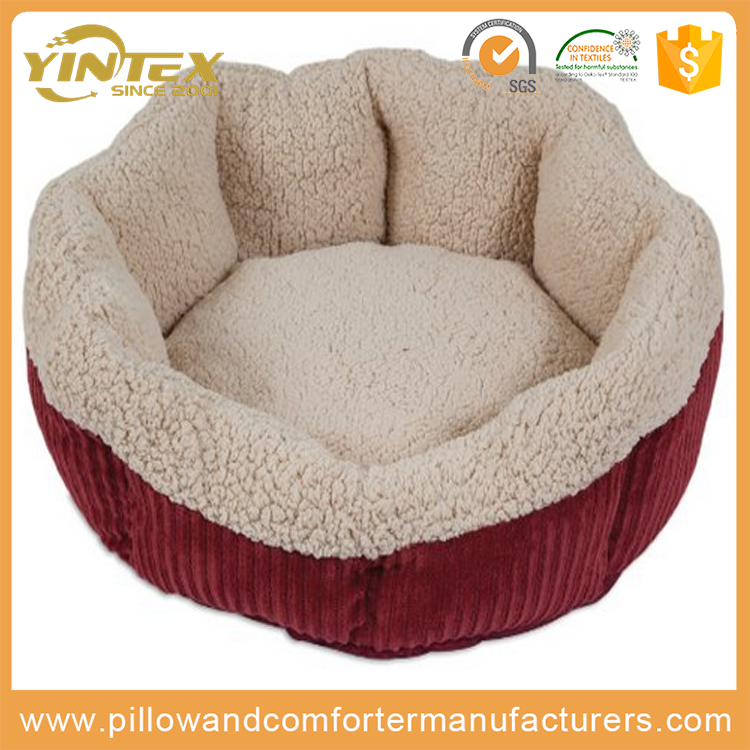 Wholesale cheap pet mat high quality dog product super comfortable plush luxury design dog bed
