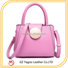 2015 French Designer Leather Handbags for Young Lady