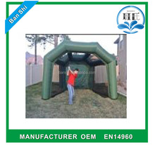 PVC Tarpaulin Inflatable Golf Cage/ InflatableGolf Net Golf Chipping Net