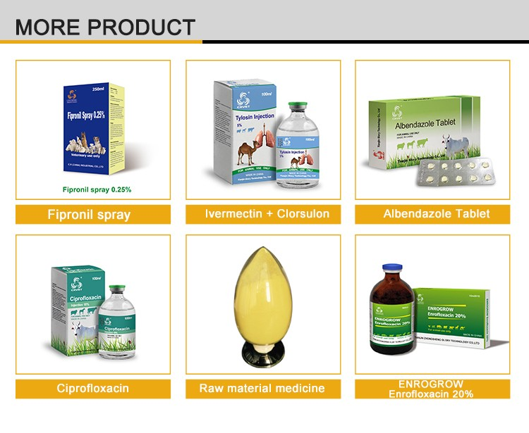 Top Pharmaceutical Companies Veterinary Products Albendazole And Ivermectin Powder
