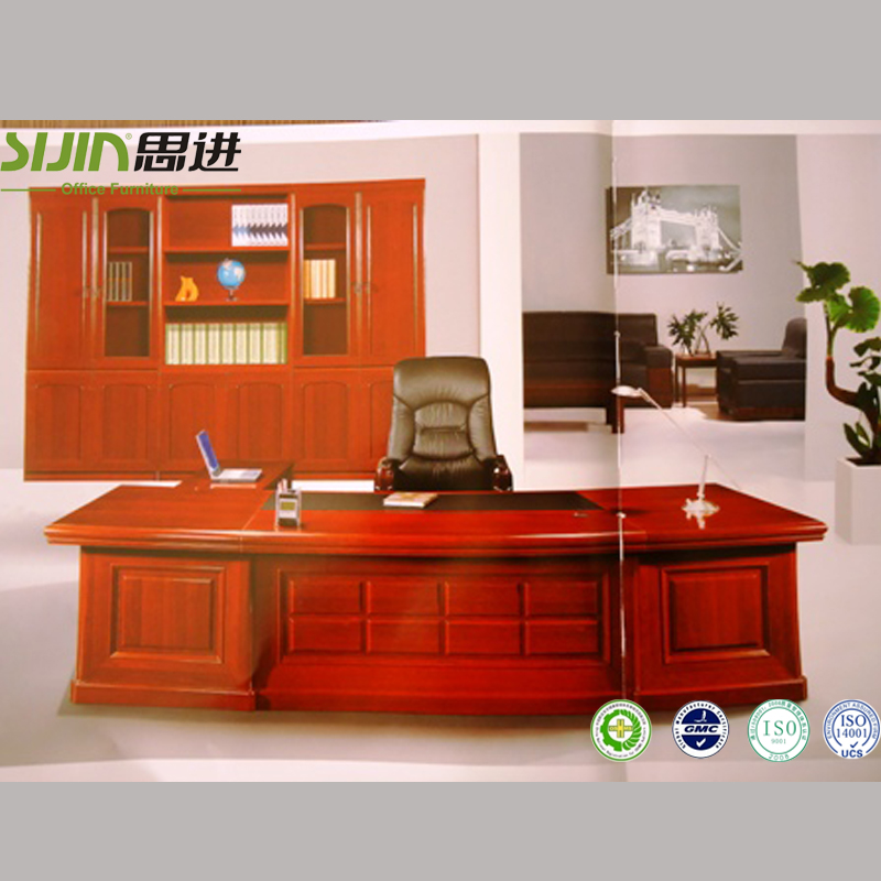 Beautiful Office Desk Furniture Specificationswooden Executive Table