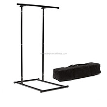 Free Standing Gymnastic Pull Up Bar Dips Station Hand Grip Calisthenics Parallel Horizon Bar